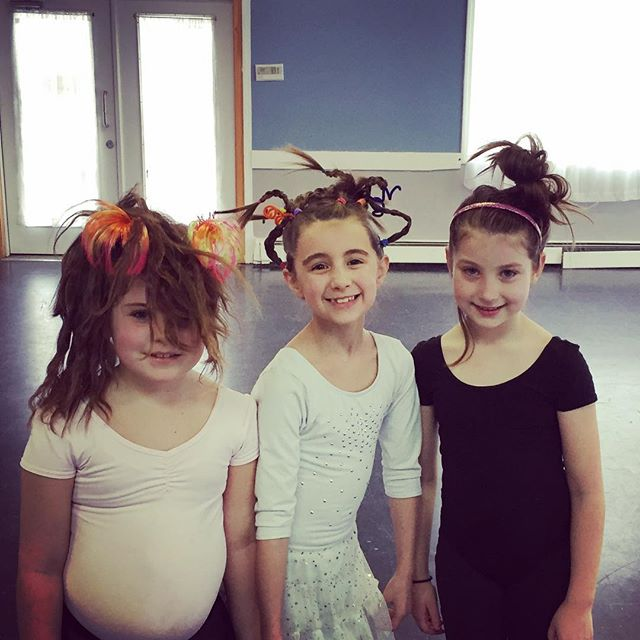 Crazy hair day at Spotlight Dance