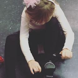 Tap time #spotlightdancemaine#southportlandmaine#tapdance#shoelaces#broadwaybaby#ilovemyjob