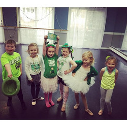 Happy Saint Patrick's Day from Broadway Kids