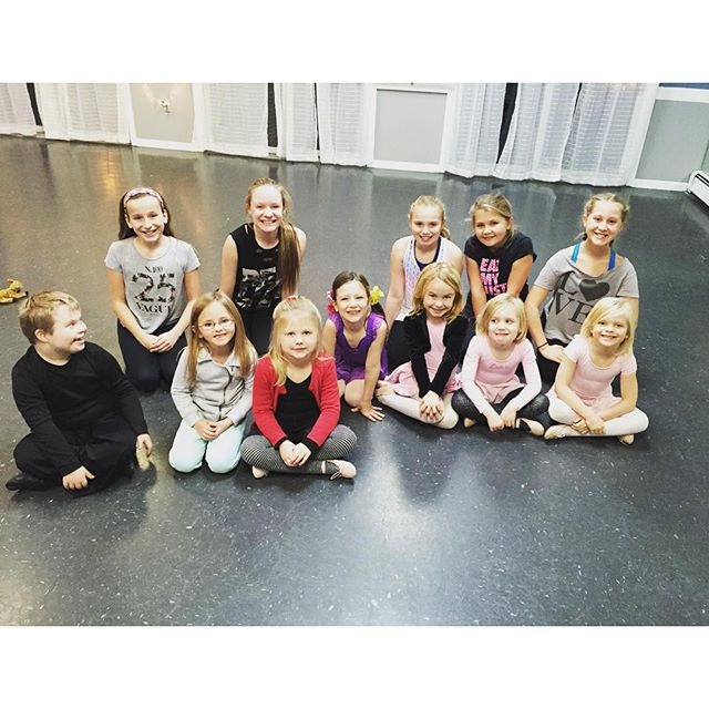 Competition girls helped out in my Broadway kids class today! #lovedance#lovemyjob#danceteacher#danc
