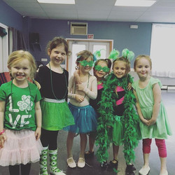 Happy saint Patrick's day from Broadway baby!