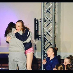 Love this photo of our senior tappers Tori & Sarah! They won 1st Runner Up Overall Top Score in #tcd