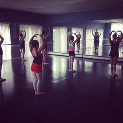 Ballet intensive camp day 2_#lifeasadancer#ballet#southportland#maine#summer#dance#workhard#team