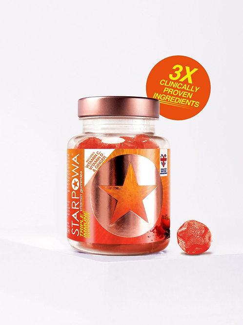 STARPOWA Triple Immune Support Vitamin Gummies