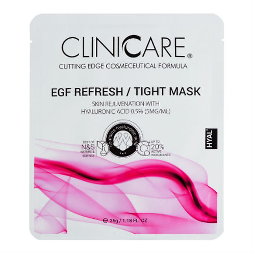 CLINICARE Refresh Hyaluronic Acid Face Mask