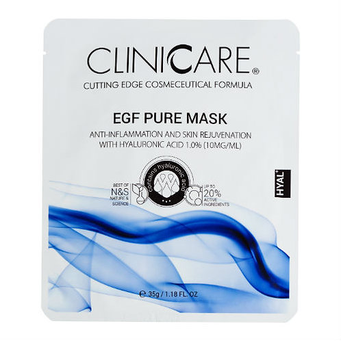 CLINICARE Pure Hyaluronic Acid Face Mask