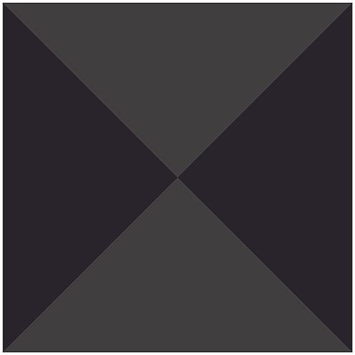bow tie-dark gray+gray