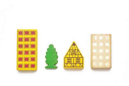 Toy urban cube 2
