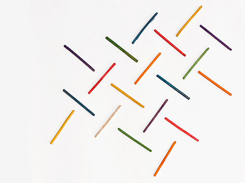 Colored sticks