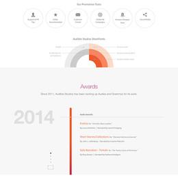 Audible Studios Website (2014)
