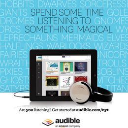 Audible Ad + App Copy (2015)