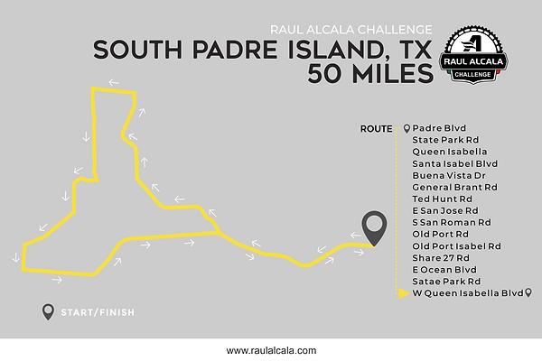 Ruta 2018  South Padre Island 50 Miles.p