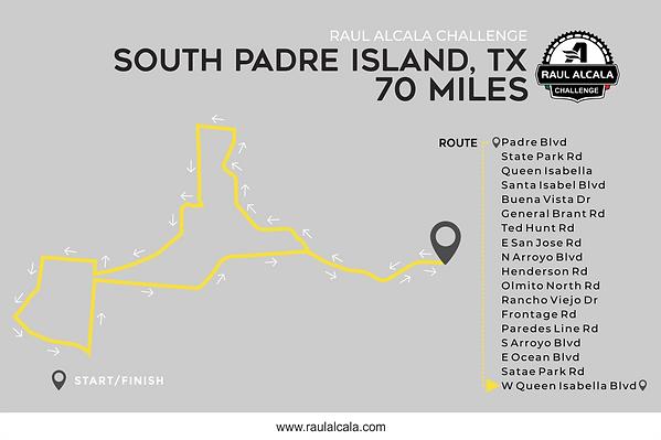 Ruta 2018  South Padre Island 70 Miles.p