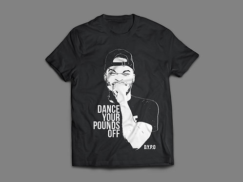 Dance Your Pounds Off Face T-shirt
