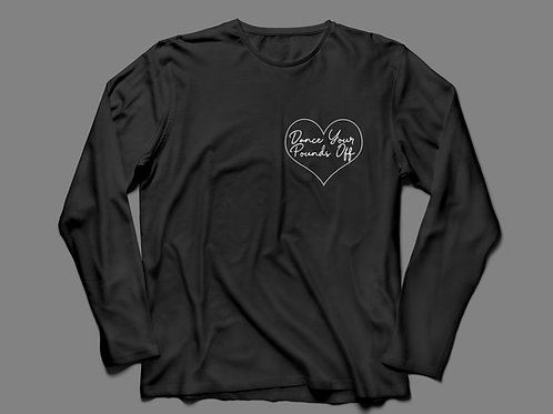I Heart Dance Your Pounds Off Long Sleeve