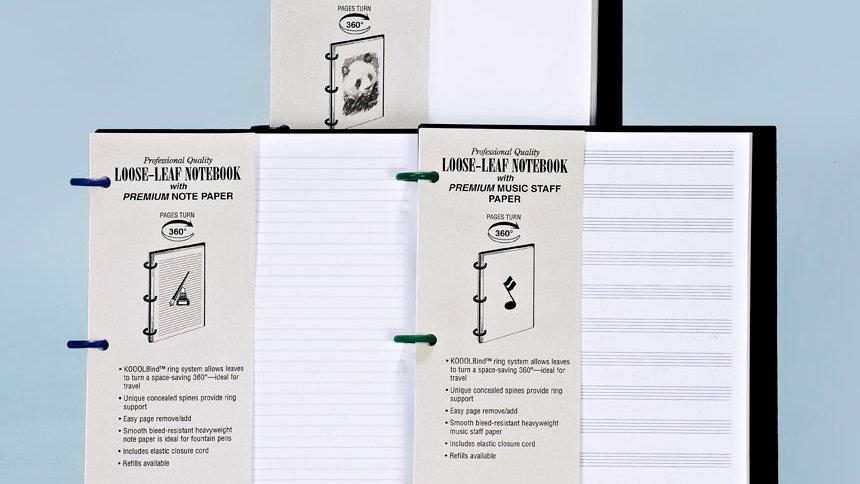 KOOOLBIND Refillable Notebook
