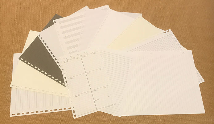 Loose Leaf Paper Samples.JPG
