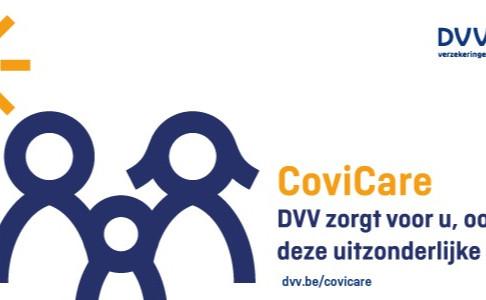 COVICARE: Geniet deze zomerperiode van extra GRATIS waarborgen bij DVV!