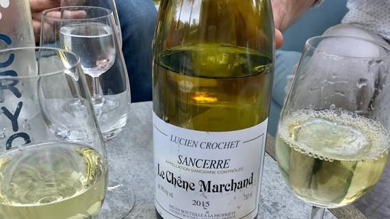 wine at Didier's bar