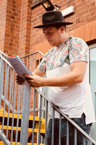 Jonny Painting as Julian