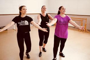 Emily Healey as Lorraine, Gemma Landers as Annie & Emily Canham as Phyllis