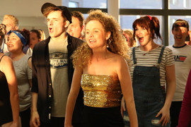 Fame Cast In Rehearsals