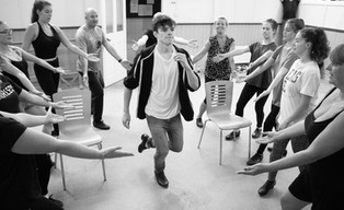 42nd Street Cast In Rehearsals