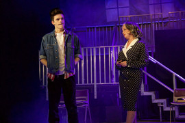 Joe Harrison as Tyrone & Katherine Pledger as Miss Sherman