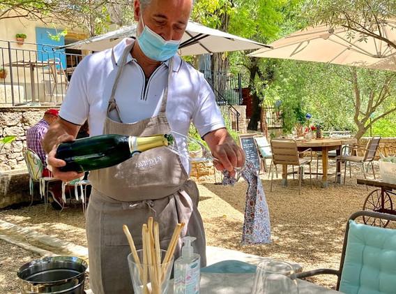 Waiter Rolland at Le Jardin Secret.jpg