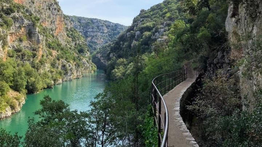 Quinson walk along the Gorge du Verdon