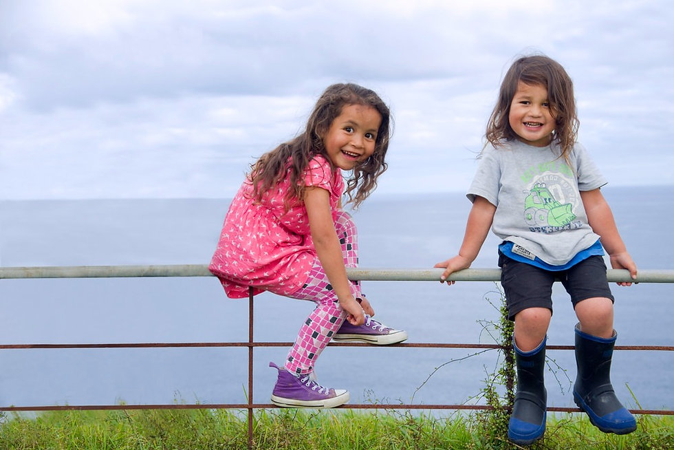 two sisters sitting on a fence_edited.jpg