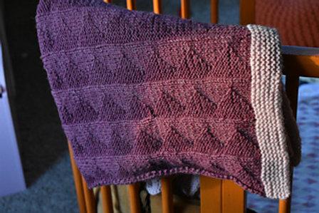 WTP Baby Blanket - Knit Pattern