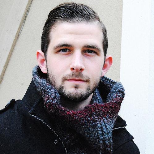 Stonehenge Men's Cowl - Crochet Pattern