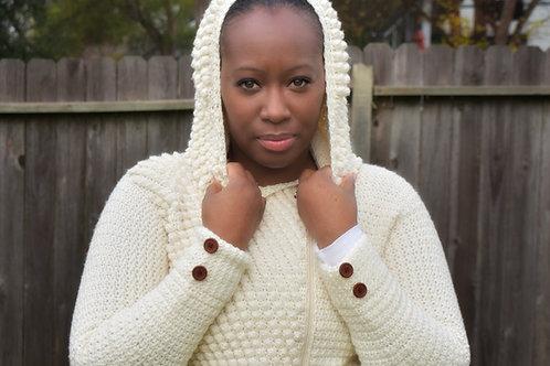 Snow Bunny Jacket -Crochet Pattern