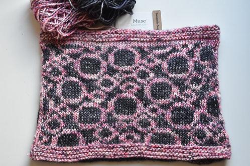 Circles Around You Knit Cowl Pattern