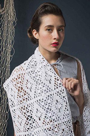 Misty Summer Wrap - Crochet Pattern