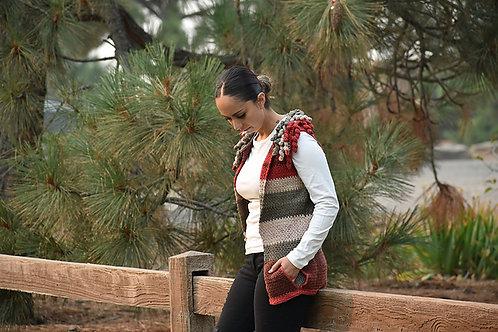 Charlotte Vest - Crochet Pattern