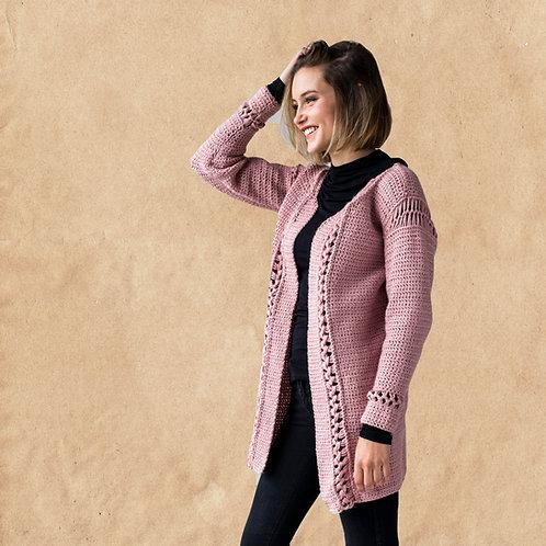 Braided Lace Cardigan - Crochet Pattern
