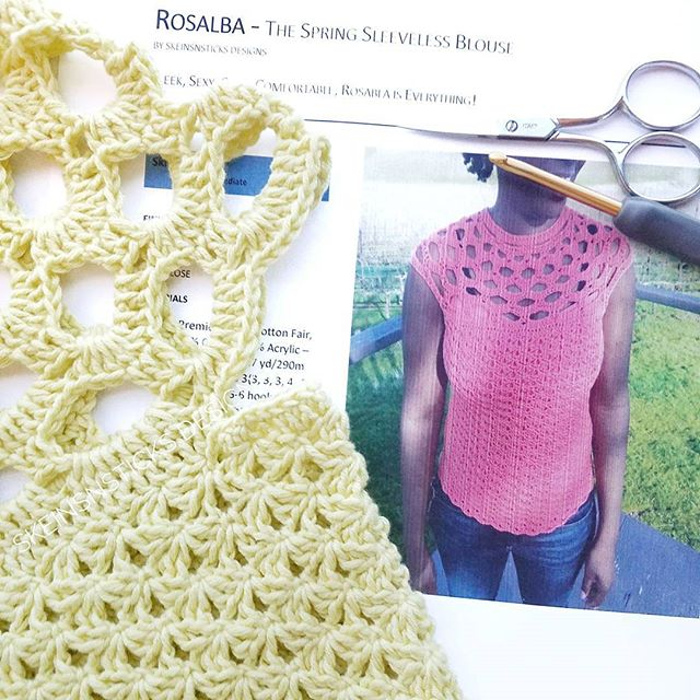 Rosalba Crochet Top