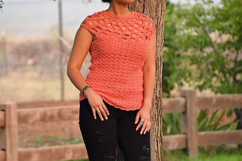 Rosalba Top - Crochet Pattern