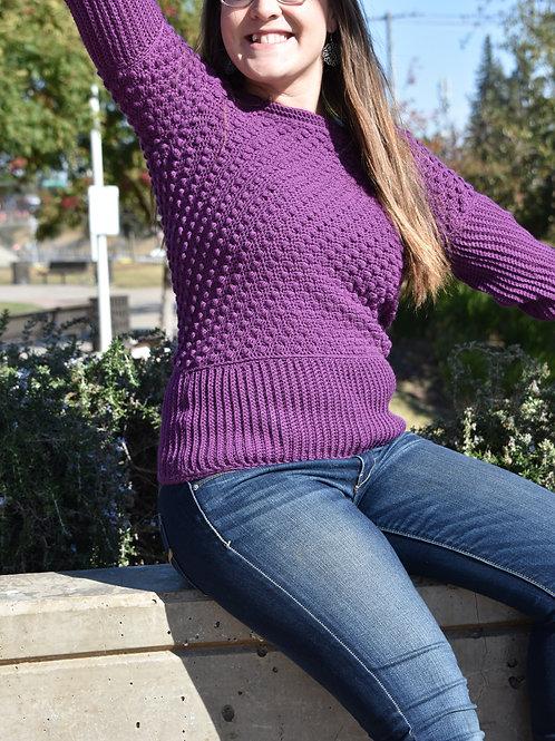 Holli Bells Sweater - Crochet Pattern