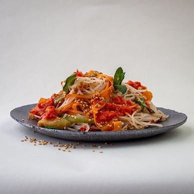 Plant Based Vietnamese Noodle Salad with 火Hyi