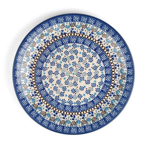 Dinerbord plat Ø: 25 cm Blue Coral