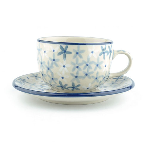 Cup and Saucer 240 ml Sea Star