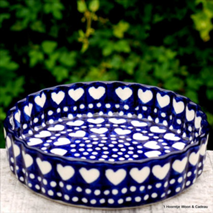 Pie Dish 1220 ml Blue Valentine
