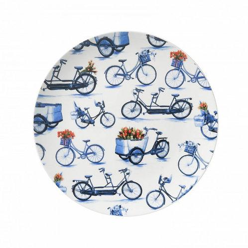 Bord fietsen groot