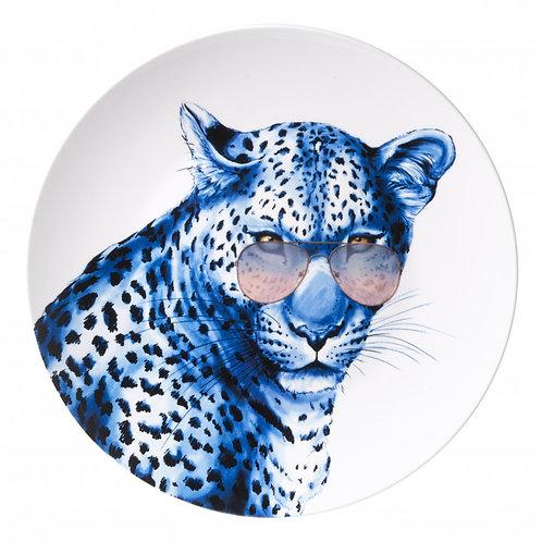 Bord Luipaard met bril