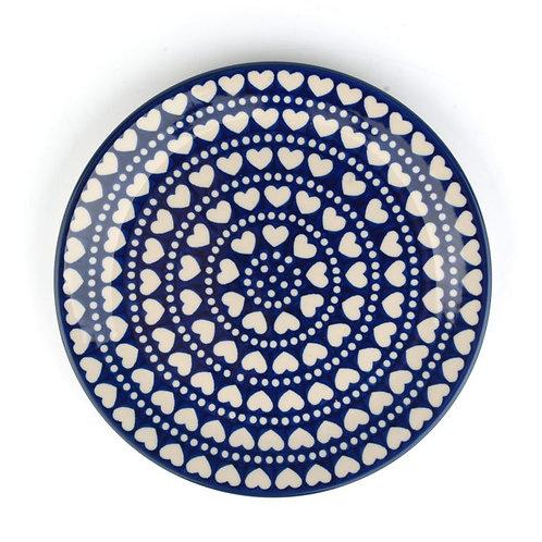 Dinerbord plat Ø: 25 cm Blue Valentine