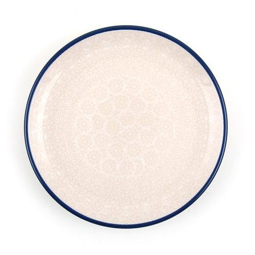 Gebaksbord Ø: 16 cm White Lace