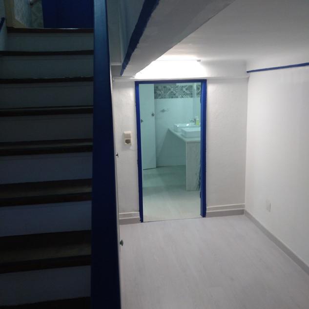 Basement hall